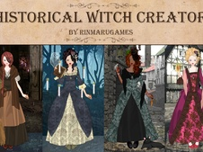 Historical witch dress up game