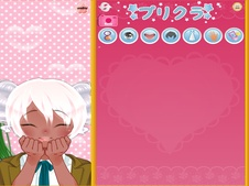 Anime purikura bff make over game