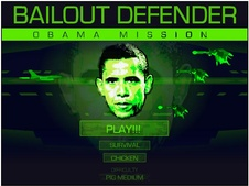 Bailout defender obama mission